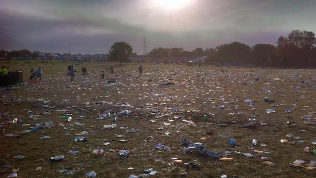 Dank vieler freiwilliger Helfer ist der Müll in Null Komma nichts wieder eingesammelt