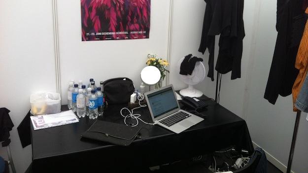 Ein Blick hinter die Kulissen: Backstage Deluxe mit Internet und Festnetzanschluss