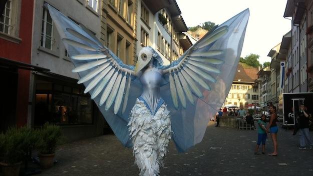 Gauklerfestival Lenzburg Vogel