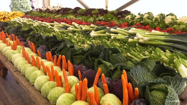 Frisches Gemüse für frische Mimen