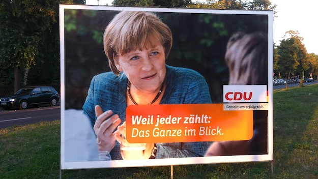Wahlplakat 2013 Angela Merkel
