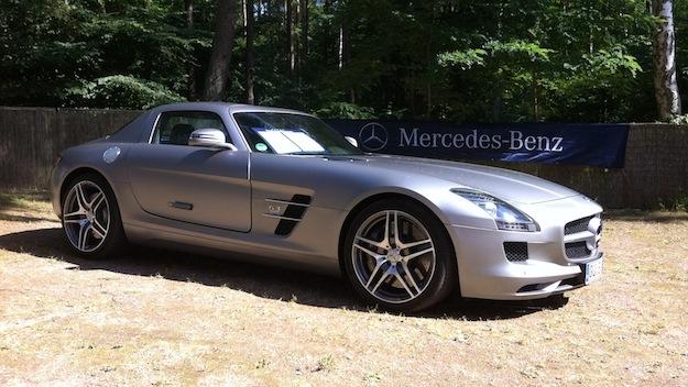 Die sportliche Mercedes Variante gabe es natürlich auch zu bestaunen