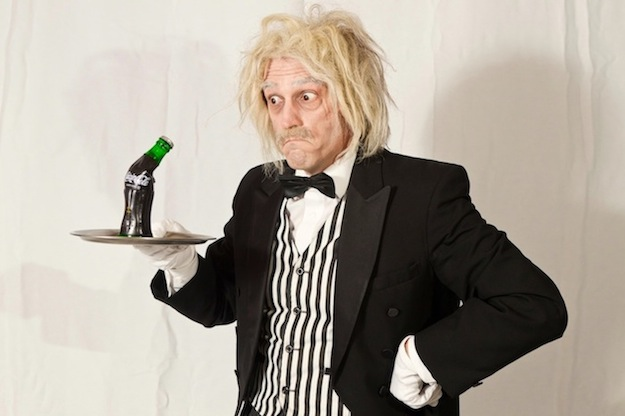 Wird immer wieder gern gebucht: Der Comedy Kellner