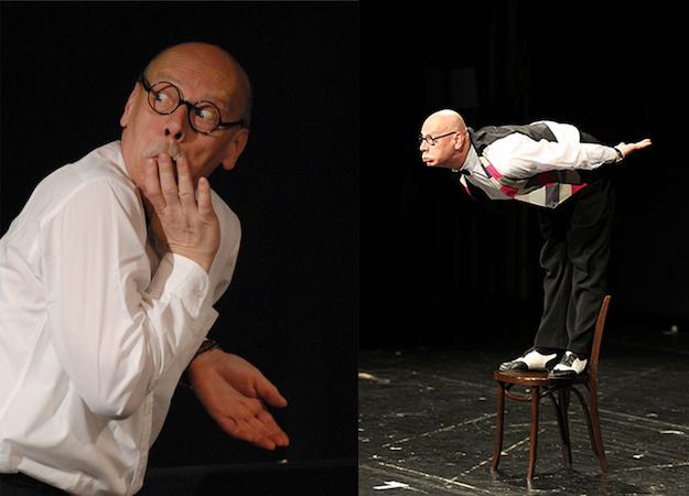 Pantomime Ralf Herzog in Aktion