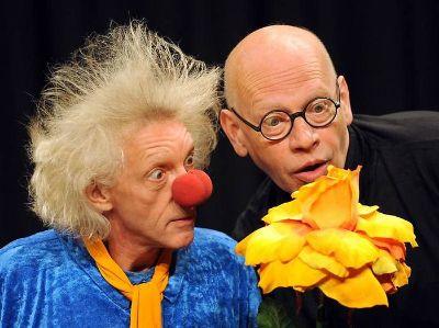 Ralf Herzog mit seinem Bühnenpartner Rainer König