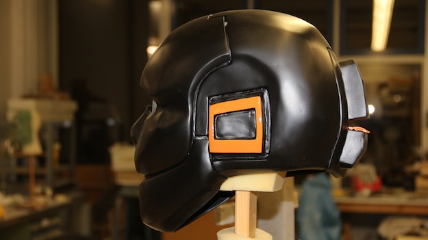 Helm mit Farbe