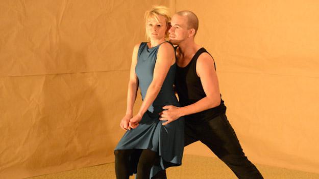 Liebes Duett metroccolis-love-duet-mime-play-flirt