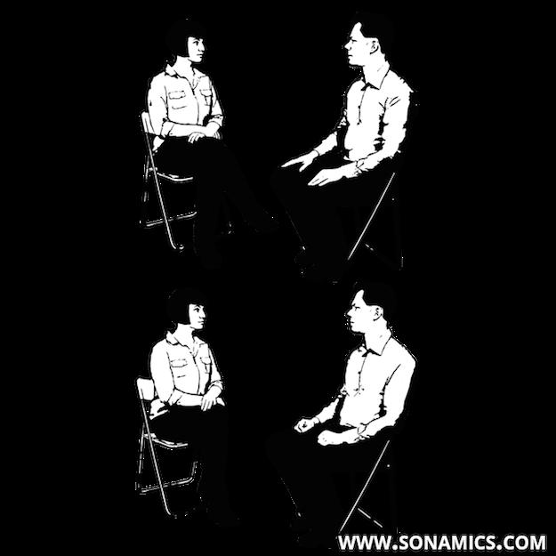 Körpersprache 54 Kniezeiger