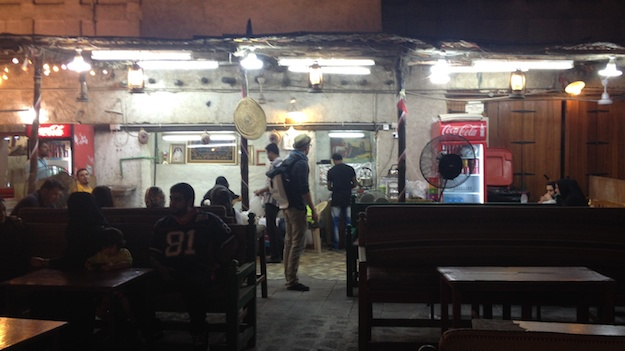 Besuch auf den Suq, den alten Märkten in Qatar