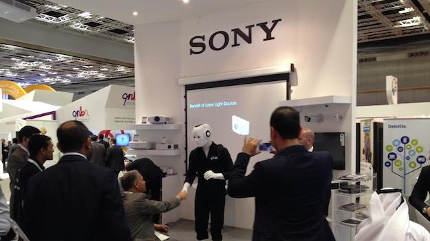 Kleine Besuch bei Sony