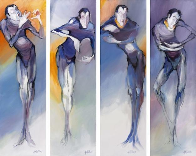 Die vier Pantomimen von Jos Pirkner