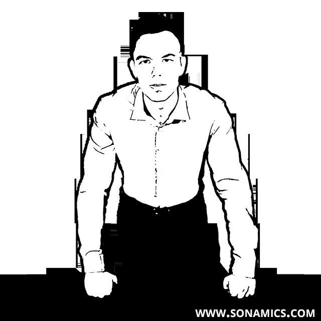 Körpersprache 8 Fauststützer