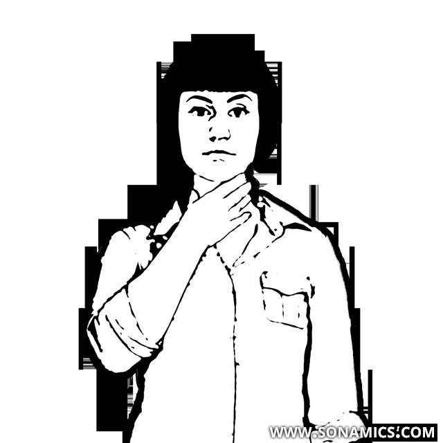 Körpersprache 13 Halsmassage