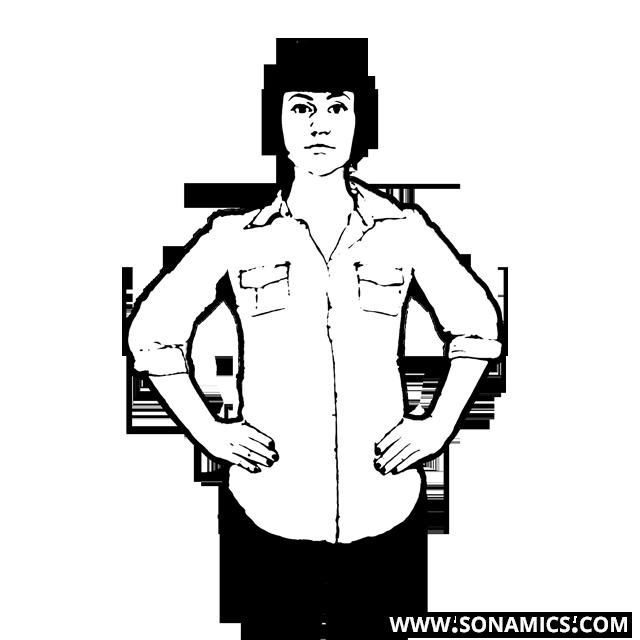 Körpersprache 36 Hände Hüfte stämmen