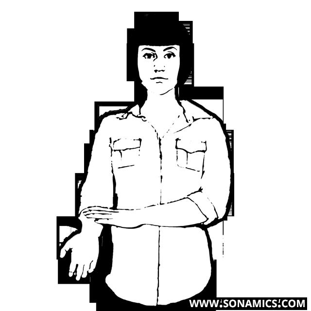Körpersprache 39 Sichtbare Handgelenk