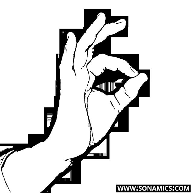 Körpersprache 62 OK Zeichen