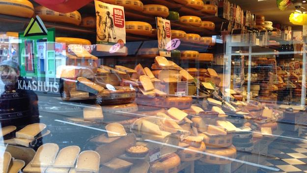Amsterdam Käse Geschschäft, laden