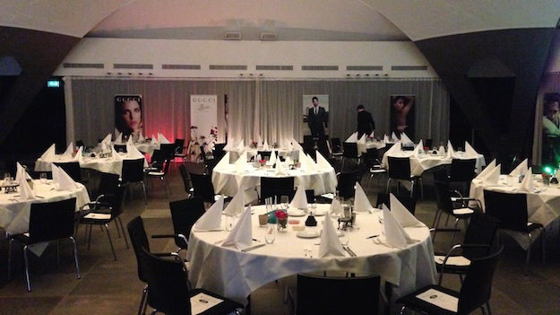 Hugo Boss Future of Fragrance Academy Niederlande Prestige Training Gala Bestuhlung