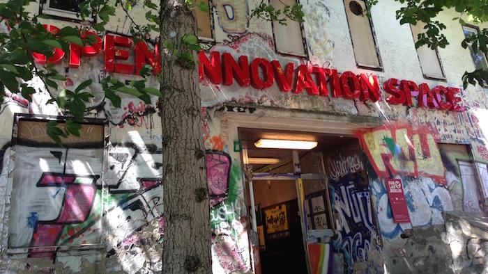 Open Innovation Space Berlin auf der Prenzlauer Allee