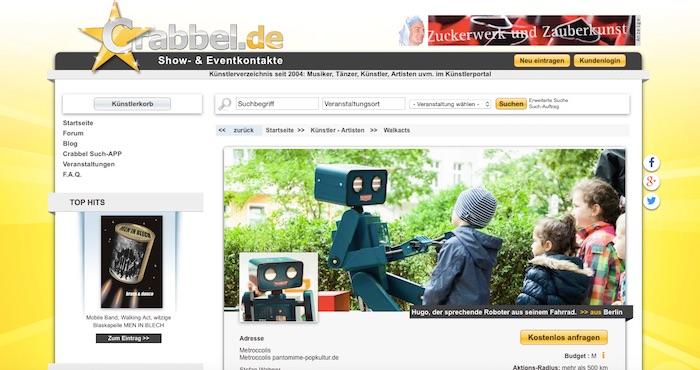 crabbel.de screenshot