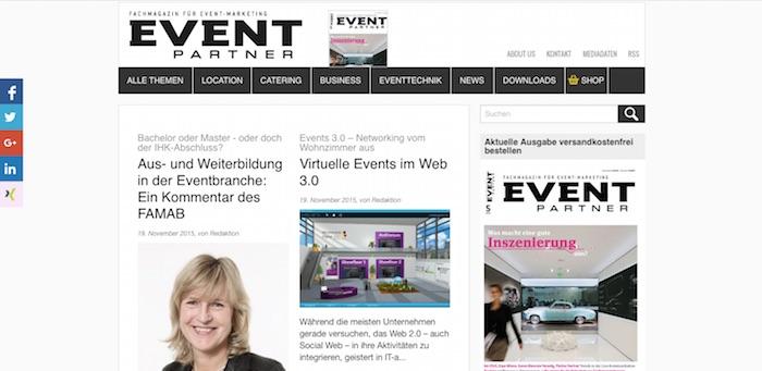 event-partner.de screenshot
