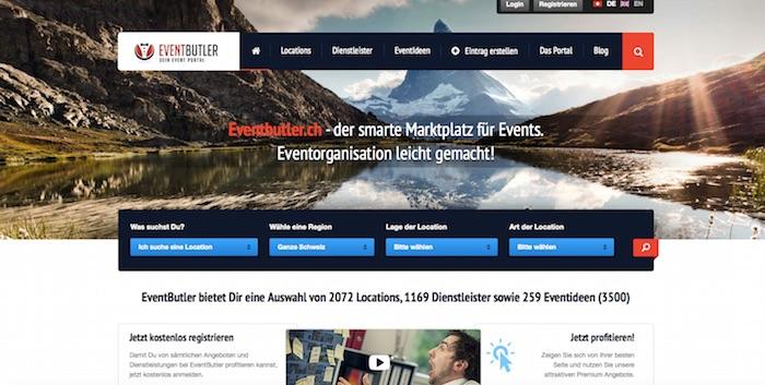eventbuttler.ch screenshot