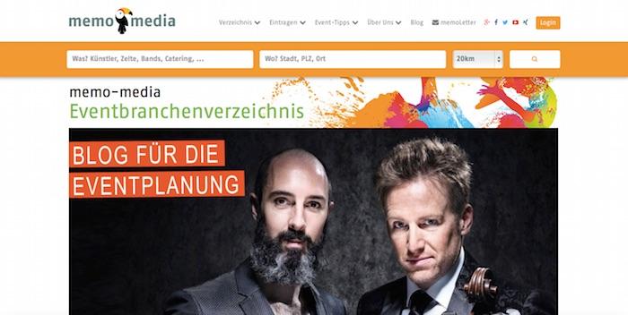memo-media.de screenshot