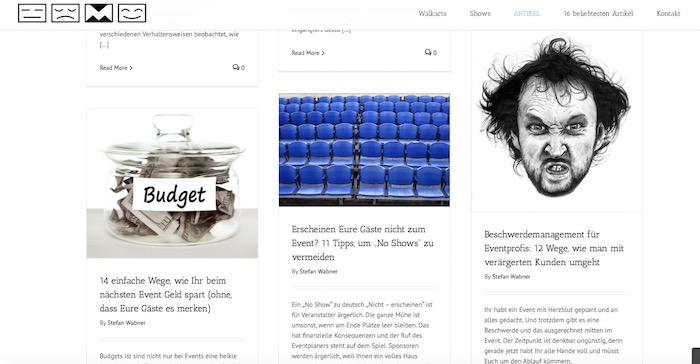 pantomime-popkultur.de screenshot