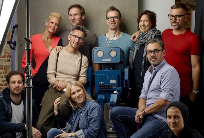 Crew Barbara Schöneberger Roboter Hugo Ausgabe 2 Beste Freunde