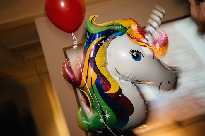 Der tollste Luftballon überhaupt - hab ich gleich meiner kleinen Tochter mitgenommen