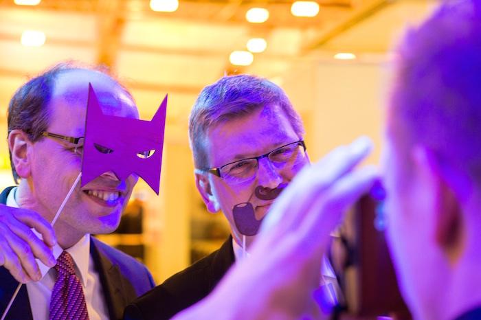 Bei den Herren stets beliebt: Die Batman Maske