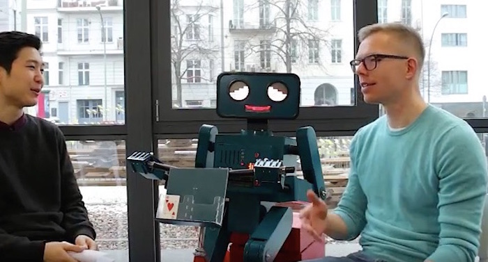 makerstory Hugo Roboter Interview fab lab Berlin