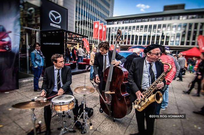 Die Jazzband swingt