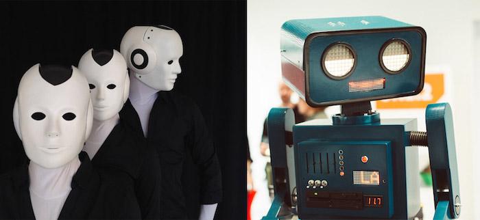 """Mobil wie die """"Maschinenmenschen"""", effektreich wir """"Hugo der Roboter"""""""