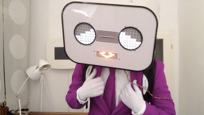 Animierte LED Augen