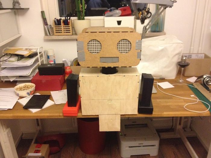 Test Korpus roboter