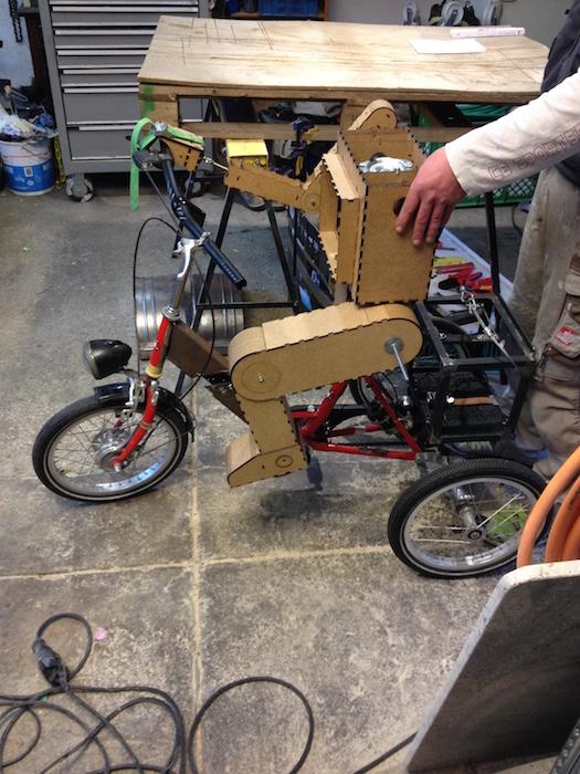 Test beinlänge Fahrrad