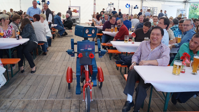 Gemü Firmenfeier Mitarbeiterfest Künstler Bierzelt Festzelt