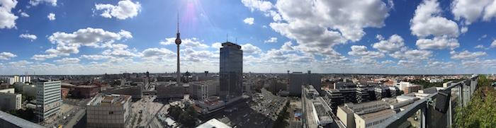 Panorama über Berlin