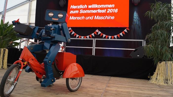 """Das Motto des Events: """"Mensch und Maschine"""""""